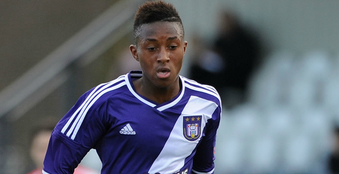Aston Villa to battle with Liverpool to seal transfer of Anderlecht midfielder Samuel Bastien – report