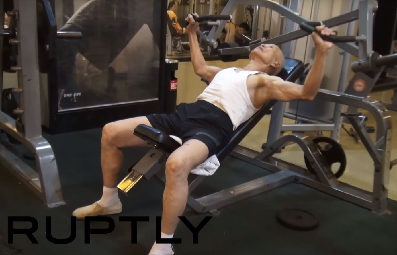 93-year-old gym fanatic is your gym goals