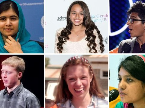 Six people under 20 who've already helped change the world