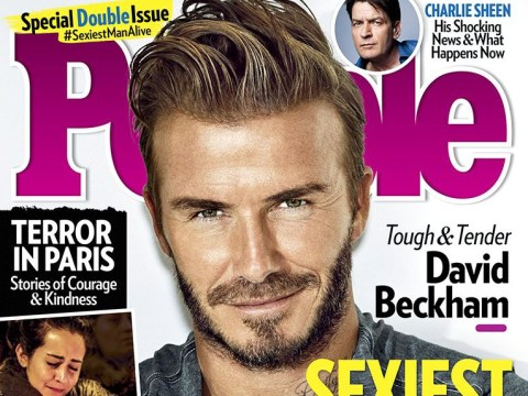 David Beckham named People's Sexiest Man Alive and Twitter is OK with this