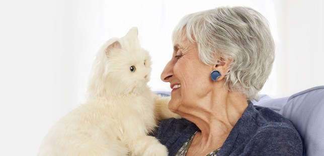 Hasbro Joy For All introduces robot cats to help older people feel