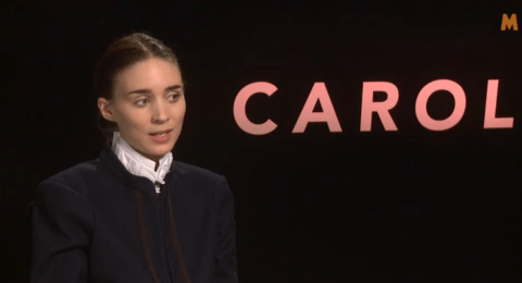Rooney Mara: Oscar buzz about Carol is really just noise