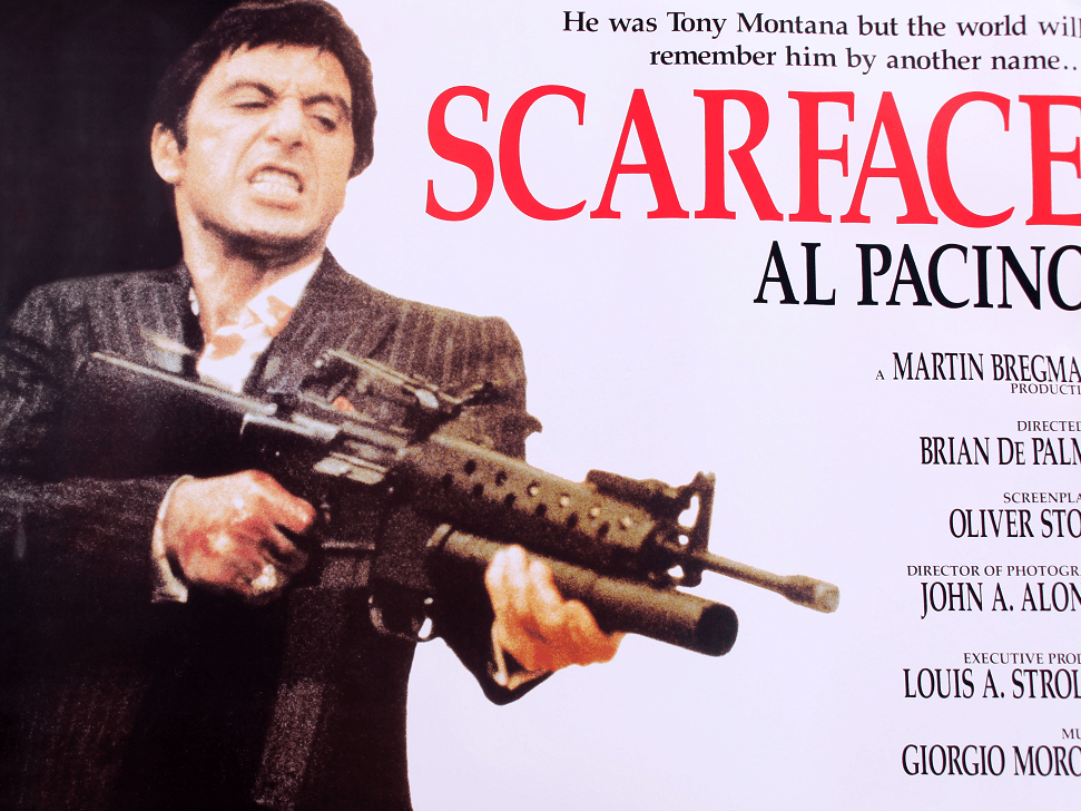 Scarface fans! Don't just say hello to Tony's little friend, buy it at auction