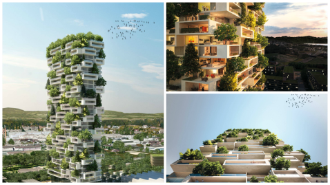 We wouldn't mind living in this 'vertical forest' tower
