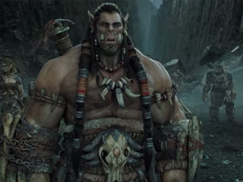 Orcs meet humans in dramatic style as the first trailer for the Warcraft movie is released