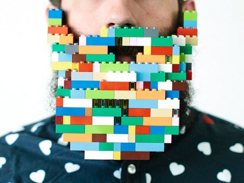 This Instagram follows one man's mission to see how much random crap he can fit in his beard