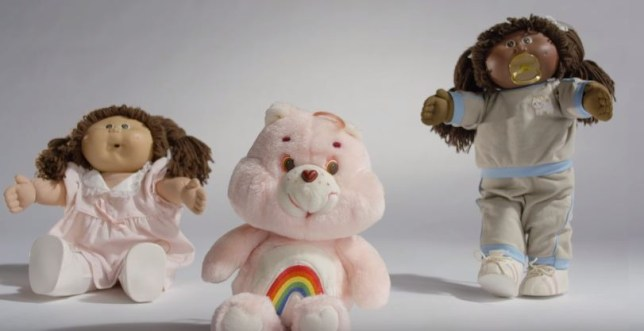 100 years of toys cabbage patch and care bear