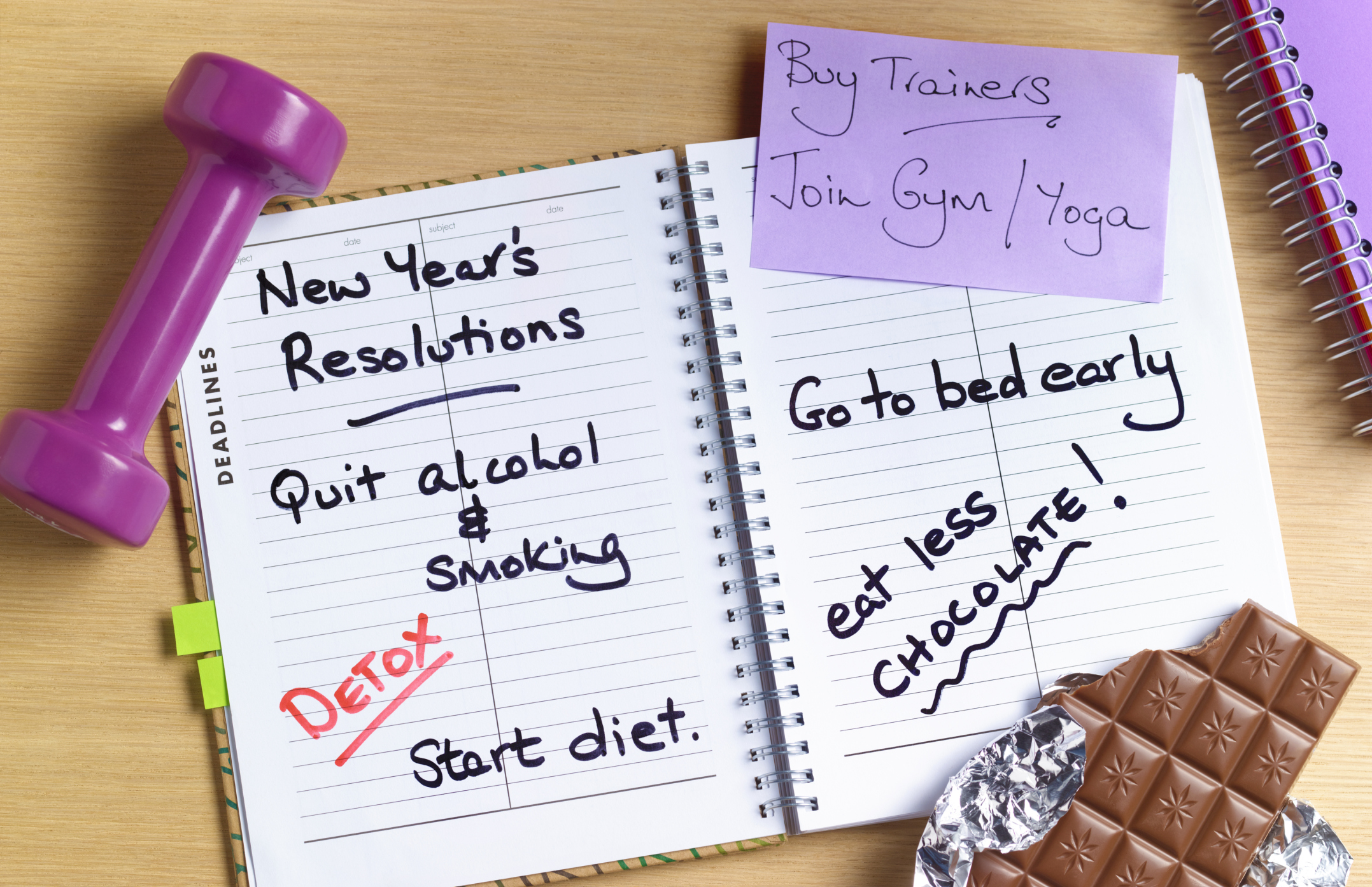 9 New Year's resolutions you shouldn't bother making this year