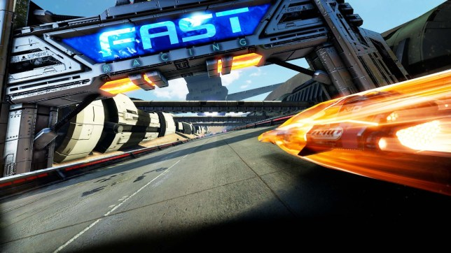 FAST Racing NEO (Wii U) - they're not joking about the speed of it