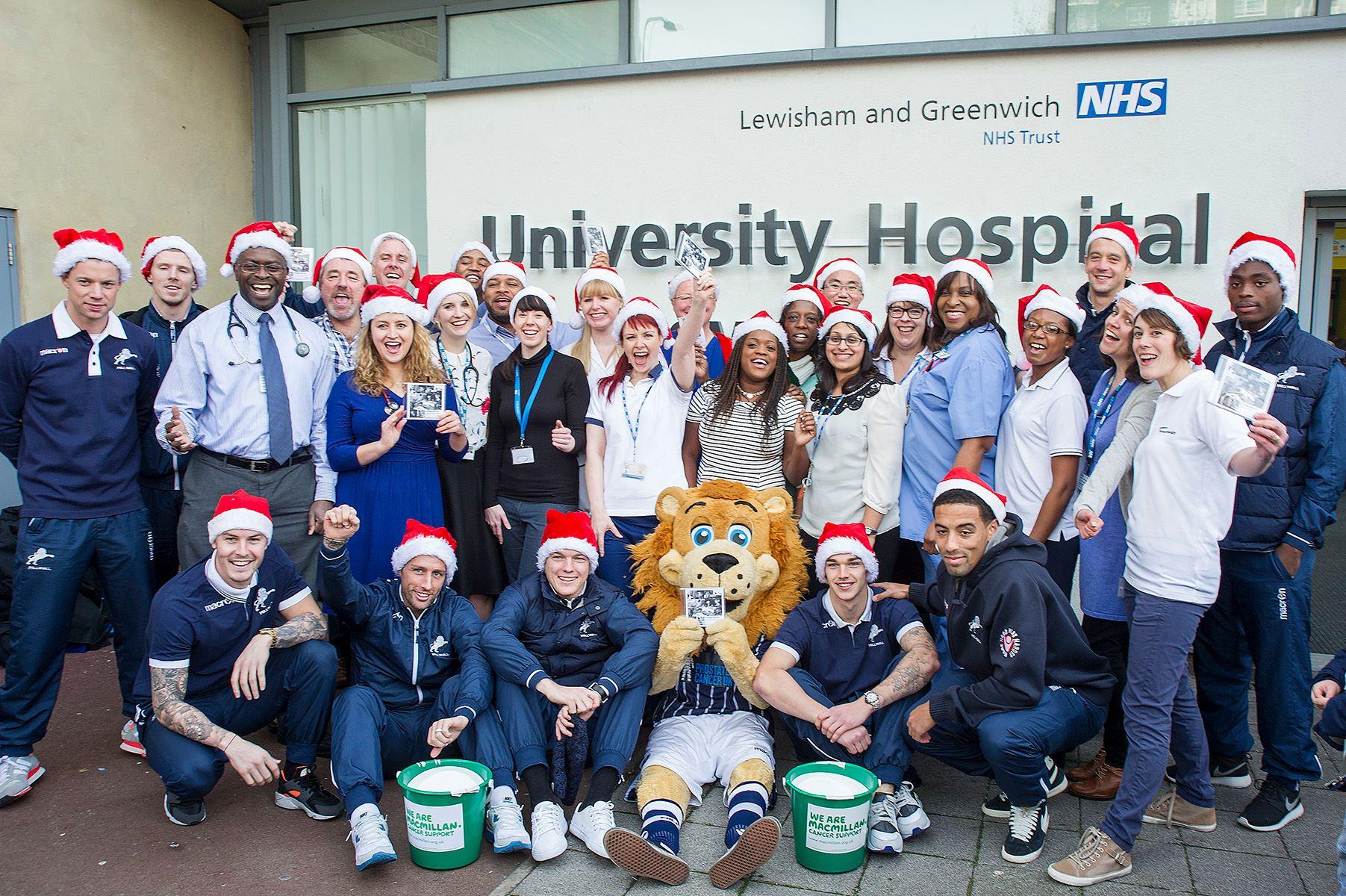 LEWISHAM AND GREENWICH NHS CHOIR FRONT-RUNNER IN CHRISTMAS NO 1 RACE Credit: Facebook/Lewisham NHS Choir