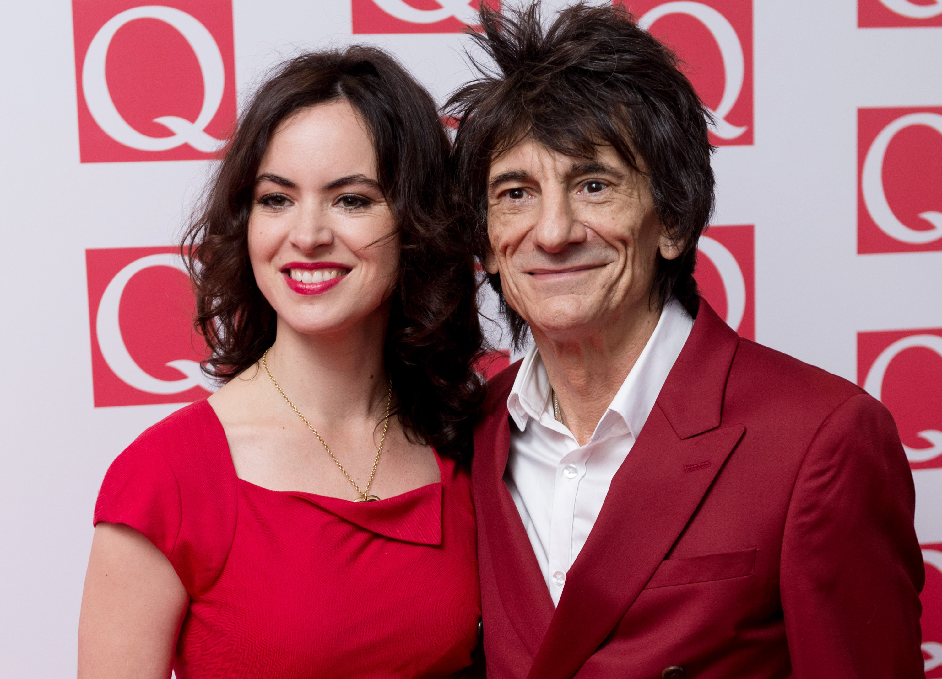 Rolling Stones star Ronnie Wood, 68, 'to become a father of twins'