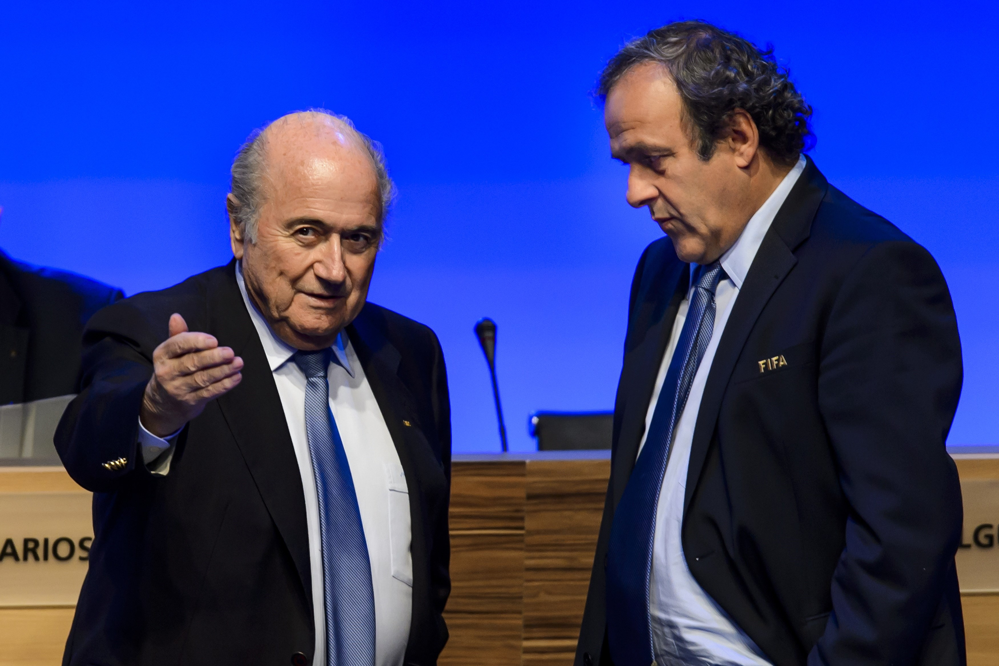 Fifa ban Sepp Blatter and Michel Platini from football for eight years