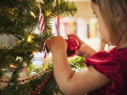 Genius man creates child-proof Christmas tree