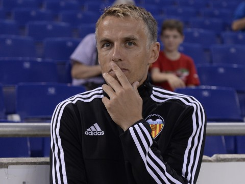 Topless teenager hacks Phil Neville's Instagram account, things start to get a bit weird