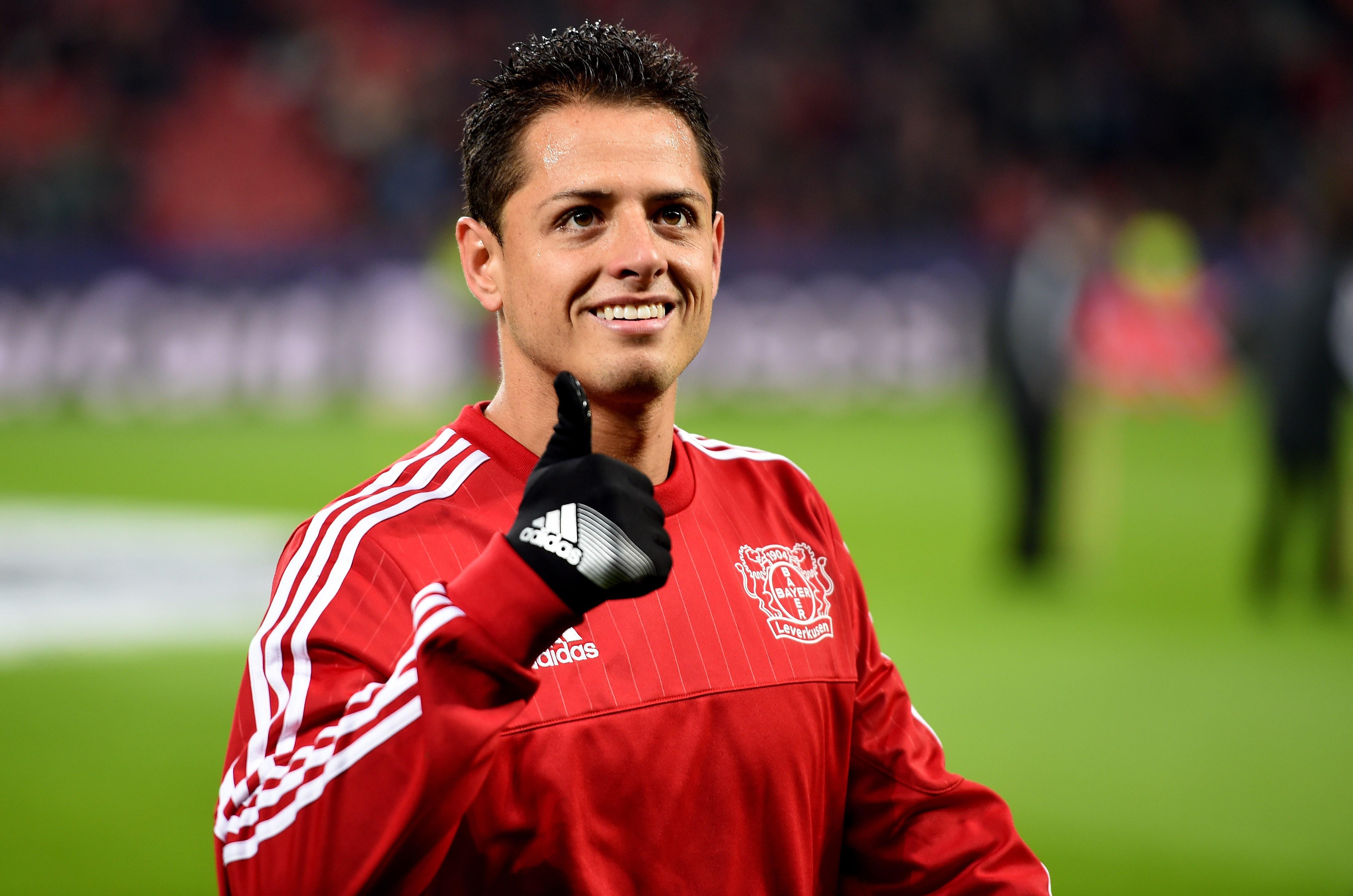 Bayer Leverkusen ready to sell Javier Hernandez for £21.3 million