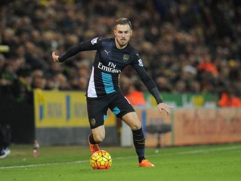 Aaron Ramsey can save Arsenal's Premier League title bid after Santi Cazorla's injury