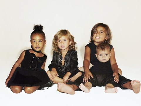 The Kardashians' Christmas card features all their children – but a distinct lack of Kardashians