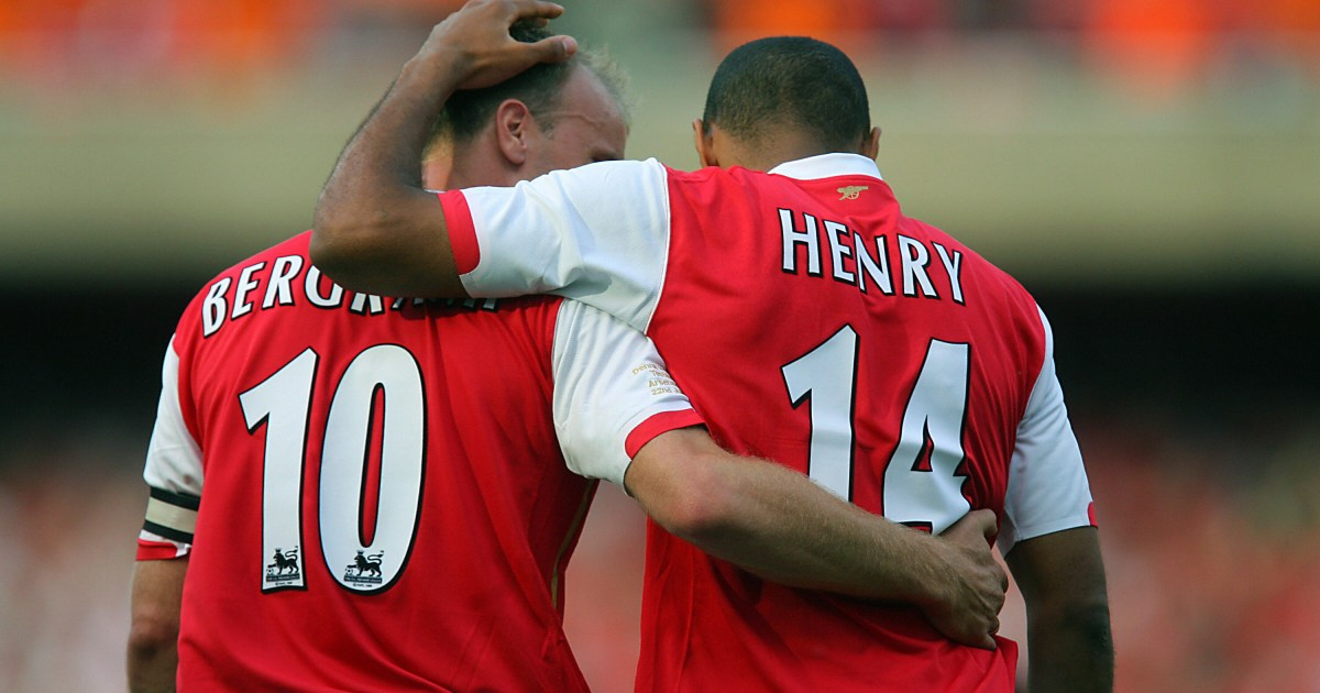 dd28e0ed Arsenal news: Thierry Henry says Dennis Bergkamp was greatest player he  played with | Metro News