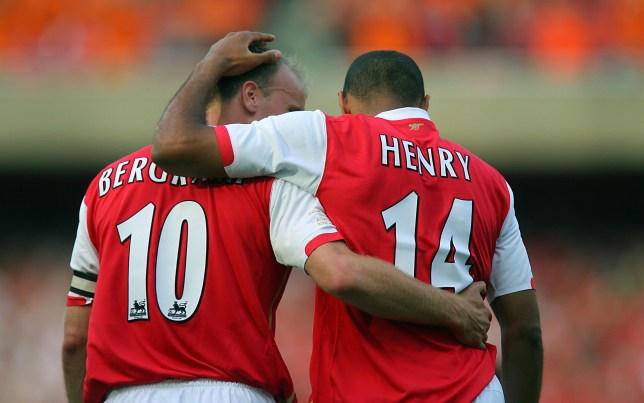 e5e133e0 Arsenal icon Thierry Henry says Dennis Bergkamp was greatest player he  played with