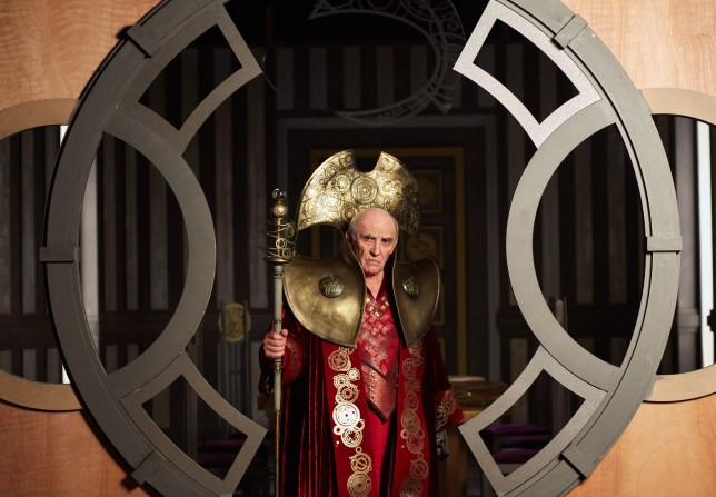 WARNING: Embargoed for publication until 00:00:01 on 29/11/2015 - Programme Name: Doctor Who - TX: 05/12/2015 - Episode: HELL BENT (By Steven Moffat) (No. 12) - Picture Shows: ***EMBARGOED UNTIL 00:01hrs 29th NOV 2015*** The President (DONALD SUMPTER) - (C) BBC - Photographer: Simon Ridgway