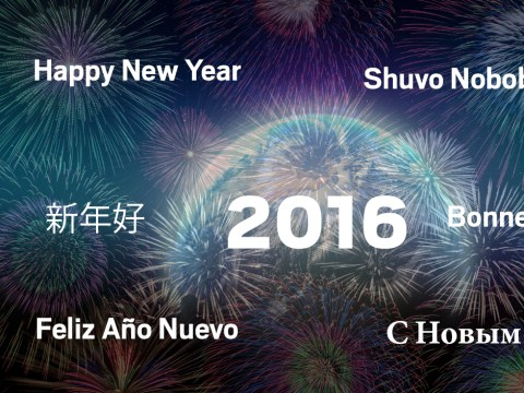 Here's how to say Happy New Year in different languages