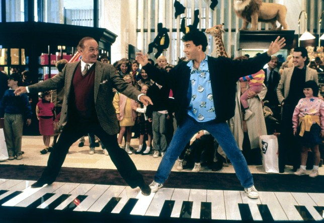 Robert Loggia & Tom Hanks