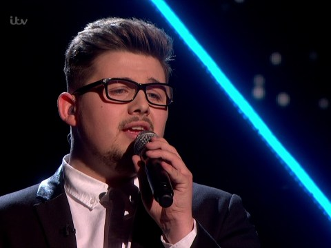 Che Chesterman had everybody in tears during Saturday night's X Factor semi-final