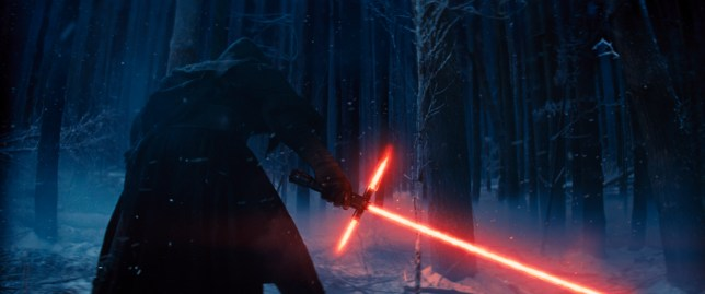 This photo provided by Disney shows, Adam Driver as Kylo (Picture: Film Frame/Disney/Lucasfilm via AP)