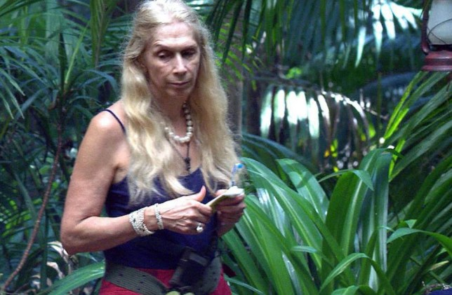 EMBARGO, NOT TO BE USED BEFORE 20:30 30 Nov 2015 - EDITORIAL USE ONLY - NO MERCHANDISING Mandatory Credit: Photo by ITV/REX Shutterstock (5455093bs) Lady Colin Campbell 'I'm A Celebrity...Get Me Out Of Here!' TV show, Australia - 30 Nov 2015 George becomes the new camp leader and appoints Lady C as his deputy
