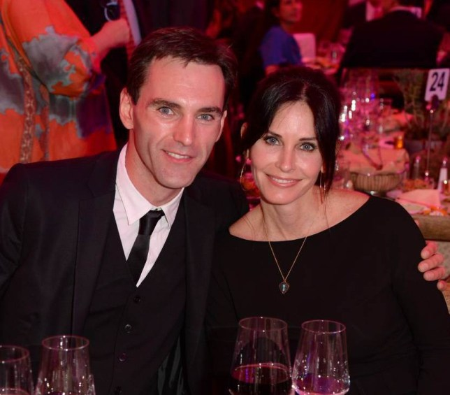 FILE - DECEMBER 01: Actress Courteney Cox and Johnny McDaid have reportedly broken up and called off their engagement. LOS ANGELES, CA - MARCH 21: Actress Courteney Cox and Johnny McDaid attend an Evening of Environmental Excellence presented by The UCLA Institute Of The Environment And Sustainability at Private Residence on March 21, 2014 in Los Angeles, California. (Photo by Jason Merritt/Getty Images for UCLA)