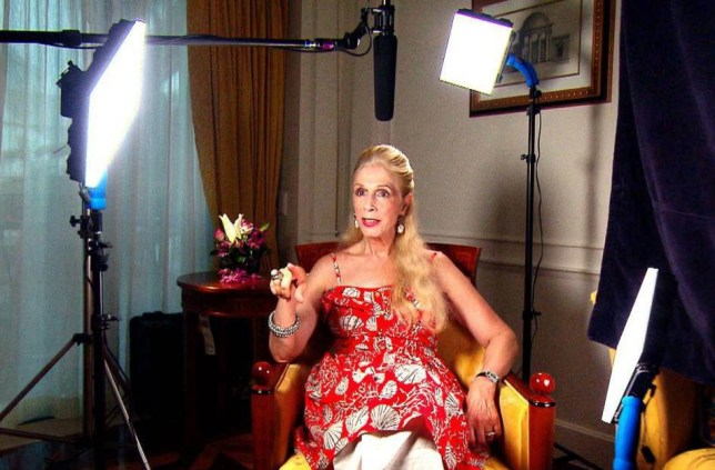 Lady Colin Campbell interviewed after leaving the jungle 'I'm A Celebrity...Get Me Out Of Here!' TV show, Australia - 02 Dec 2015