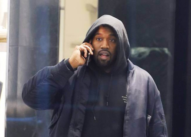 Mandatory Credit: Photo by Buzz Foto/REX Shutterstock (5470195b) Kanye West Kanye West out and about, New York, America - 02 Dec 2015