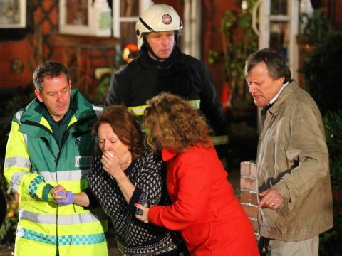 Coronation Street spoilers: Roy Cropper rescues Cathy from a fire in dramatic new scenes