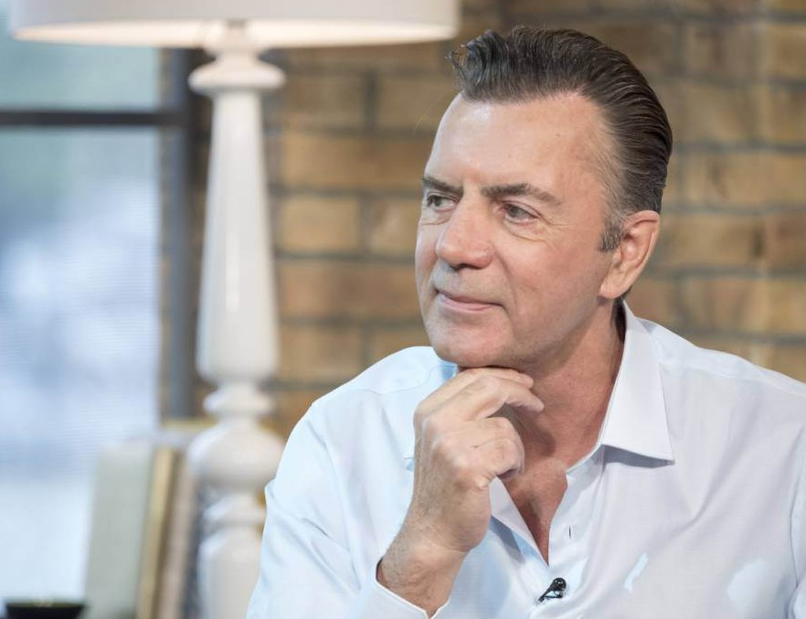 EDITORIAL USE ONLY. NO MERCHANDISING.. Mandatory Credit: Photo by Ken McKay/ITV/REX Shutterstock (4862714bj).. Duncan Bannatyne.. 'This Morning' TV Programme, London, Britain. - 23 Jun 2015.. DUNCAN BANNATYNE - EXCLUSIVE: Last weekend, Ex-Dragon's Den star Duncan Bannatyne found himself at the centre of a very public spat with his ex-girlfriend after she accused him of threatening her with revenge porn. Duncan furiously denied the claims taking to Twitter to vent his fury. He joins us today, for an exclusive interview with his new girlfriend Nigora, to set the record straight...
