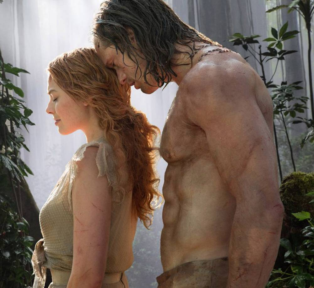 Margot Robbie got a bit carried away while filming a love scene for The Legend Of Tarzan