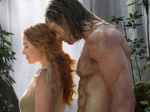 Here's the first pics of Alexander Skarsgard as Tarzan… and we just can't handle it