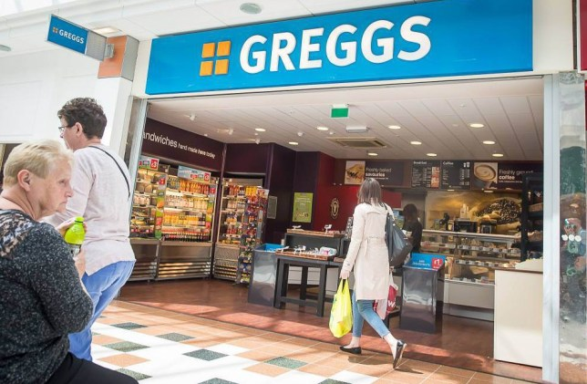 Mandatory Credit: Photo by Deadline News/REX Shutterstock (4836189c).. Greggs.. Livingston named the fast food capital of Scotland, Britain - 09 Jun 2015.. Livingston has been revealed as the fast food capital of Scotland. The new town has one fast food chain store for every 3,517 of its inhabitants. It also has the highest concentration of McDonald's per capita, with one store for every 18,756 people...
