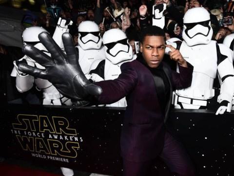 John Boyega tells Star Wars fans filming is underway on 'much darker' Episode 8…