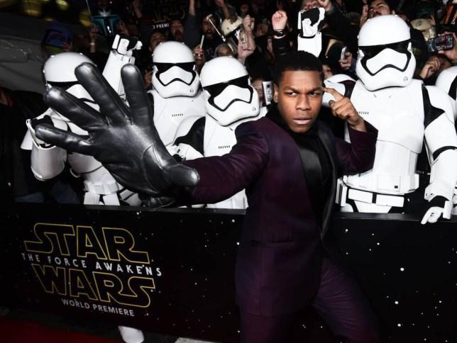 Mandatory Credit: Photo by Buckner/Variety/REX/Shutterstock (5491856gf) John Boyega 'Star Wars: The Force Awakens' film premiere, Los Angeles, America - 14 Dec 2015