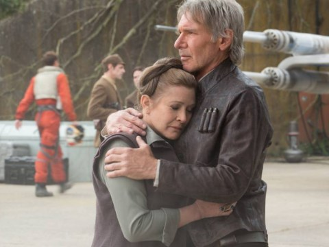 Star Wars' Carrie Fisher says first day on The Force Awakens was the 'worst' of her career