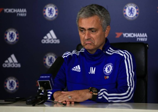 File photo dated 30-10-2015 of Chelsea manager Jose Mourinho during a press conference at Chelsea Training Ground, Stoke D'Arbenon. PRESS ASSOCIATION Photo. Issue date: Wednesday December 16, 2015. Chelsea's players remain united in their determination to climb back up the Barclays Premier League table, while the board continue to examine the direction of the team under manager Jose Mourinho. See PA story SOCCER Chelsea. Photo credit should read John Walton/PA Wire.