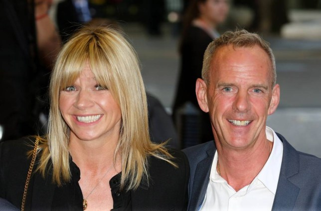 "LONDON, ENGLAND - MAY 13: Zoe Ball and Norman Cook attend the UK Gala screening of ""Man Up"" at The Curzon Mayfair on May 13, 2015 in London, England. (Photo by Tim P. Whitby/Getty Images)"