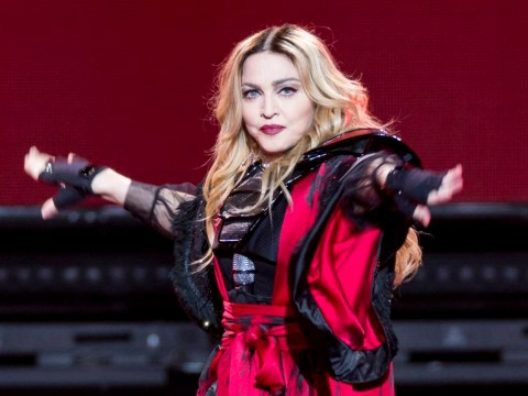 Madonna breaks down on stage over son Rocco as she admits she's 'lost the battle' for custody