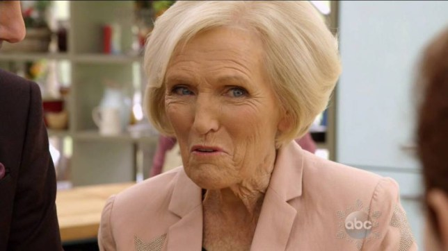 The final episode of ABC's 'The Great Holiday Baking Show' Featuring: Mary Berry Where: United States When: 22 Dec 2015 Credit: Supplied by WENN.com **WENN does not claim any ownership including but not limited to Copyright, License in attached material. Fees charged by WENN are for WENN's services only, do not, nor are they intended to, convey to the user any ownership of Copyright, License in material. By publishing this material you expressly agree to indemnify, to hold WENN, its directors, shareholders, employees harmless from any loss, claims, damages, demands, expenses (including legal fees), any causes of action, allegation against WENN arising out of, connected in any way with publication of the material.**