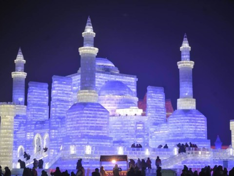 These mind-blowing ice sculptures will put your sandcastles to shame