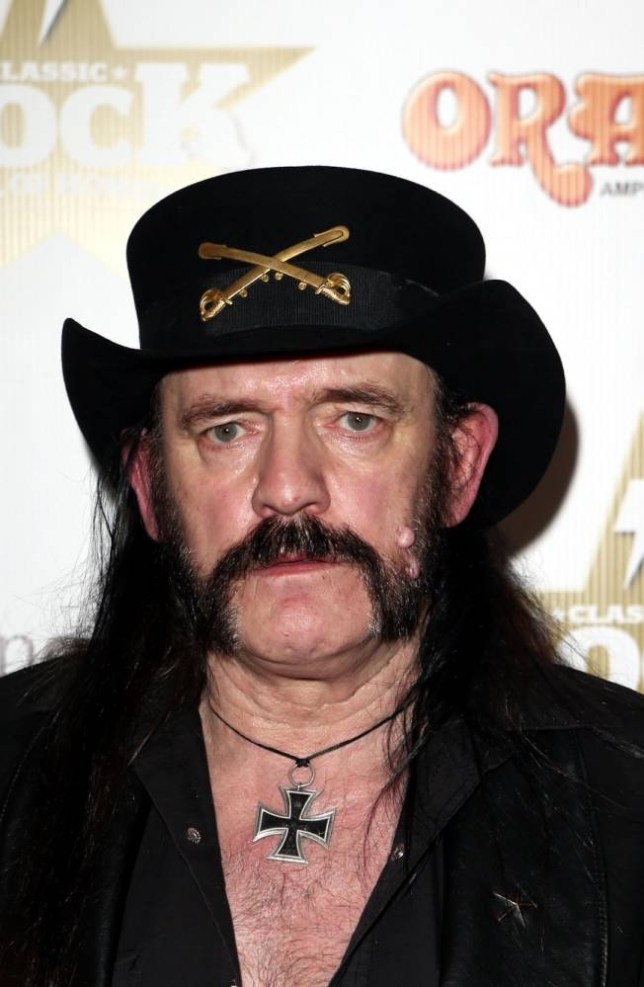 """File photo dated 13/11/12 of Motorhead singer Lemmy, who has died at 70. PRESS ASSOCIATION Photo. Issue date: Tuesday December 29, 2015. The rock star, whose real name was Ian Kilmister, died just days after celebrating his birthday following a short battle with an """"extremely aggressive cancer"""". See PA story DEATH Lemmy. Photo credit should read: Steve Parsons/PA Wire"""
