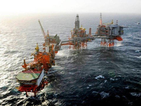 All 150 workers evacuated from BP's Valhall oil rig because of drifting barge