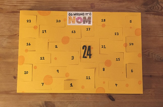 How To Make Your Own Cheese Advent Calendar For Christmas 2015