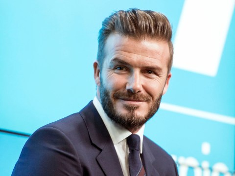 David Beckham picked up 'a £140,000 limited edition Jaguar' this Christmas