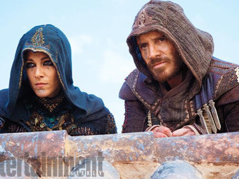 First look at Michael Fassbender in Assassin's Creed as he admits he never played the video games